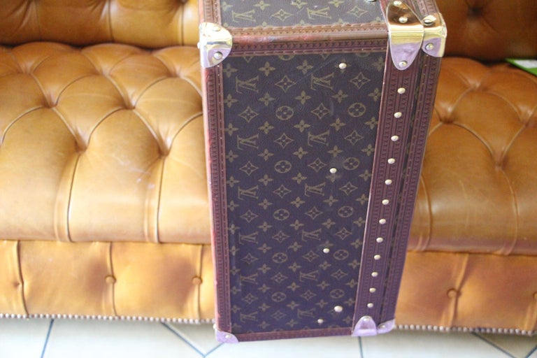 Louis Vuitton Suitcase, Alzer 80 Louis Vuitton Suitcase,Large Vuitton Suitcase For Sale 7