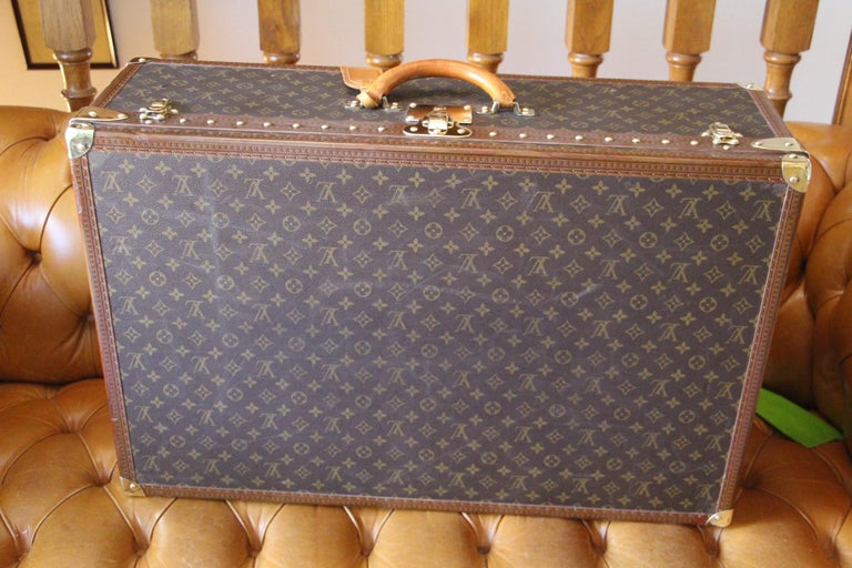 Louis Vuitton Suitcase, Alzer 80 Louis Vuitton Suitcase,Large Vuitton Suitcase For Sale 8
