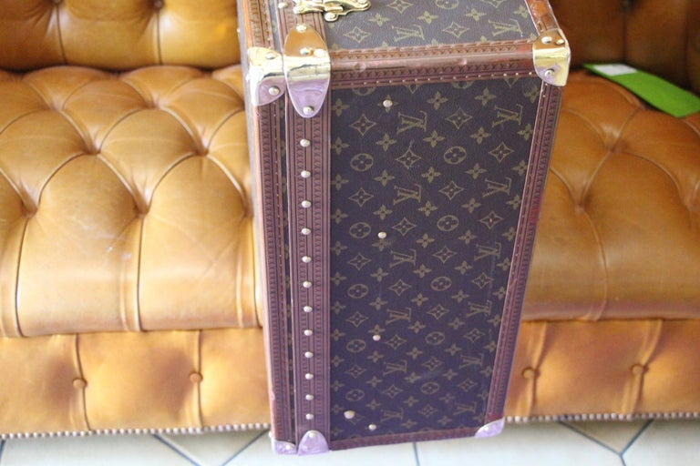 Louis Vuitton Suitcase, Alzer 80 Louis Vuitton Suitcase,Large Vuitton Suitcase For Sale 9