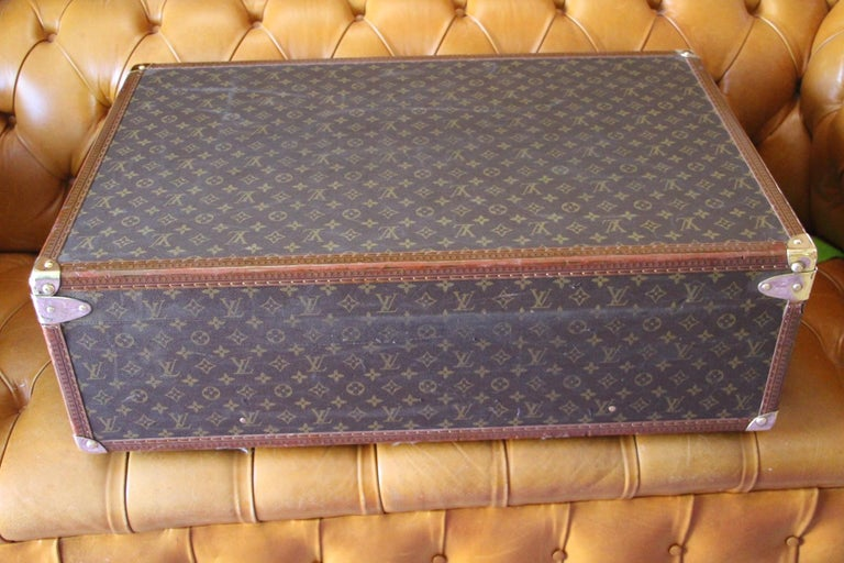 Louis Vuitton Suitcase, Alzer 80 Louis Vuitton Suitcase,Large Vuitton Suitcase For Sale 10