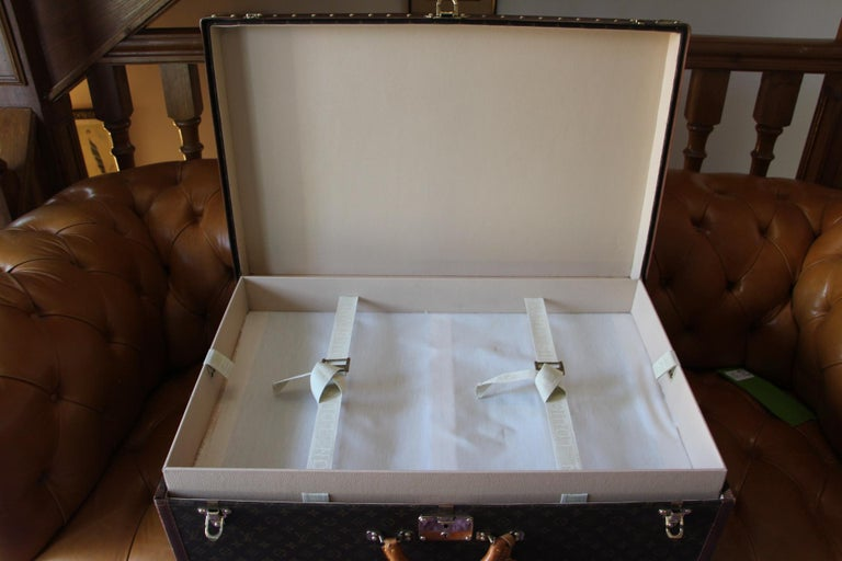 Louis Vuitton Suitcase, Alzer 80 Louis Vuitton Suitcase,Large Vuitton Suitcase For Sale 11