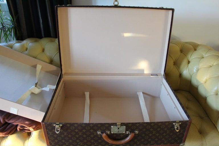 Louis Vuitton Suitcase, Alzer 80 Louis Vuitton Suitcase,Large Vuitton Suitcase For Sale 11