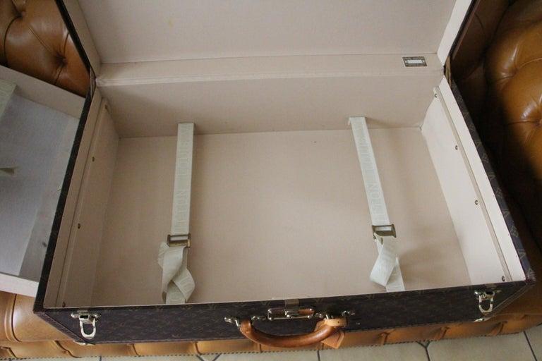 Louis Vuitton Suitcase, Alzer 80 Louis Vuitton Suitcase,Large Vuitton Suitcase For Sale 14