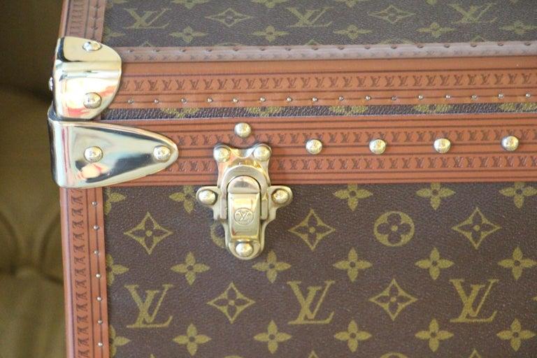 Gray  Louis Vuitton Suitcase, Alzer 80 Louis Vuitton Suitcase,Large Vuitton Suitcase For Sale