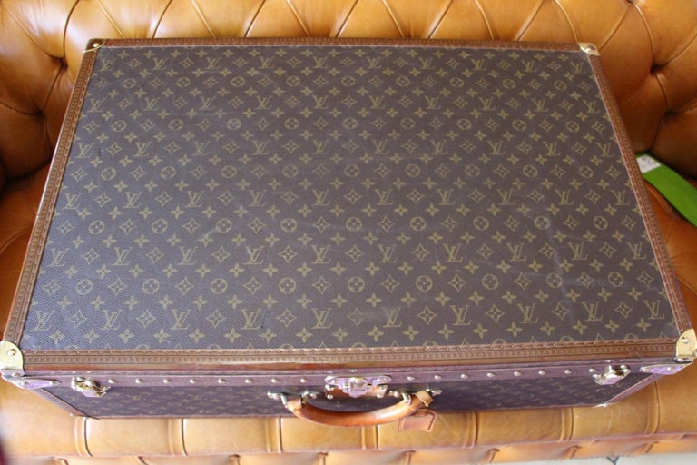 Louis Vuitton Suitcase, Alzer 80 Louis Vuitton Suitcase,Large Vuitton Suitcase For Sale 1