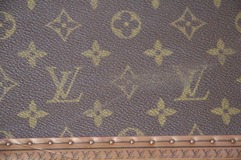 Louis Vuitton Suitcase, Alzer 80 Louis Vuitton Suitcase,Large Vuitton Suitcase For Sale 2
