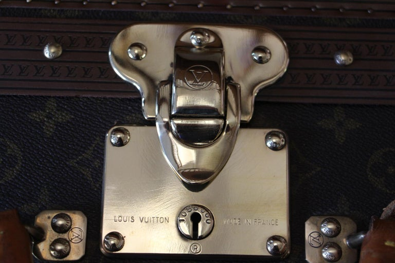 Louis Vuitton Suitcase, Alzer 80 Louis Vuitton Suitcase,Large Vuitton Suitcase For Sale 3