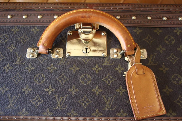 Louis Vuitton Suitcase, Alzer 80 Louis Vuitton Suitcase,Large Vuitton Suitcase For Sale 4