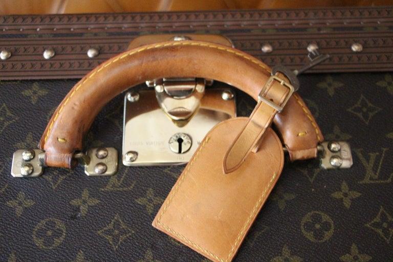 Louis Vuitton Suitcase, Alzer 80 Louis Vuitton Suitcase,Large Vuitton Suitcase For Sale 4