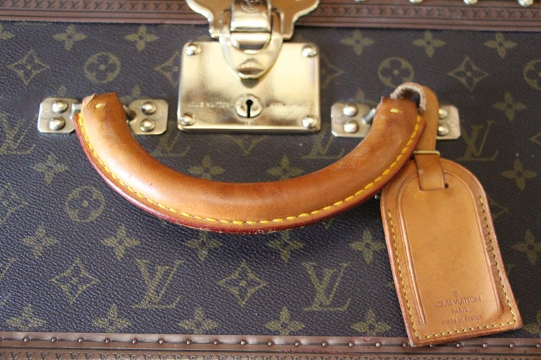 Louis Vuitton Suitcase, Alzer 80 Louis Vuitton Suitcase,Large Vuitton Suitcase For Sale 5