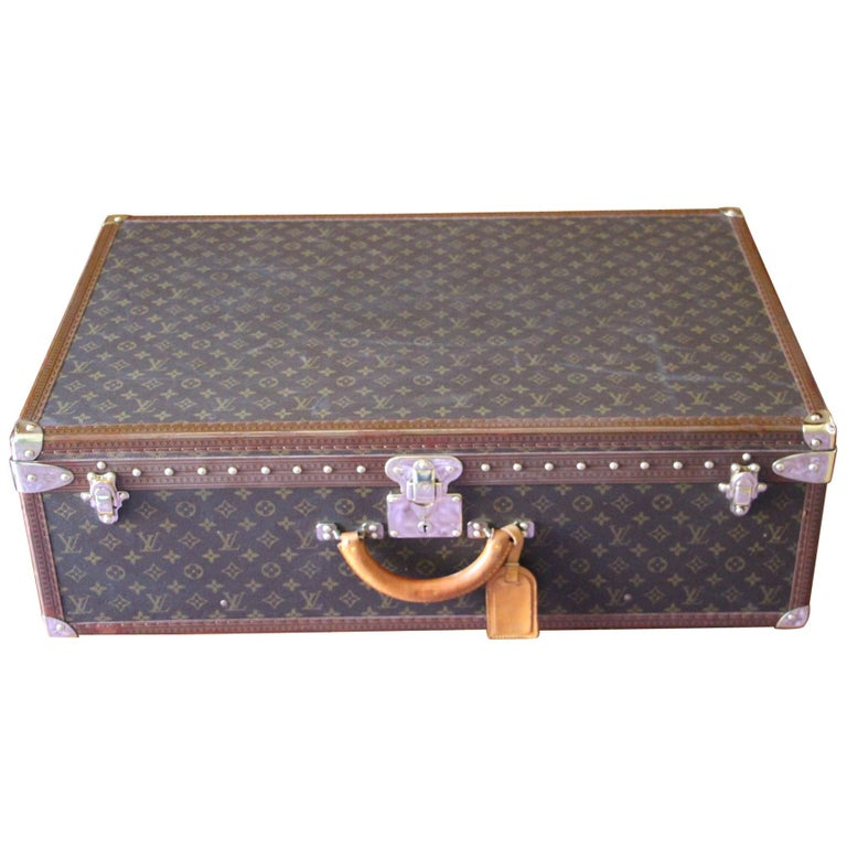 Louis Vuitton Suitcase, Alzer 80 Louis Vuitton Suitcase,Large Vuitton Suitcase For Sale