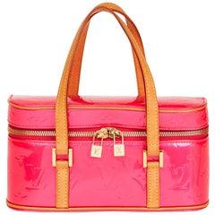 Louis Vuitton Sullivan Monogram Patent Leather Horizontal PM Bag