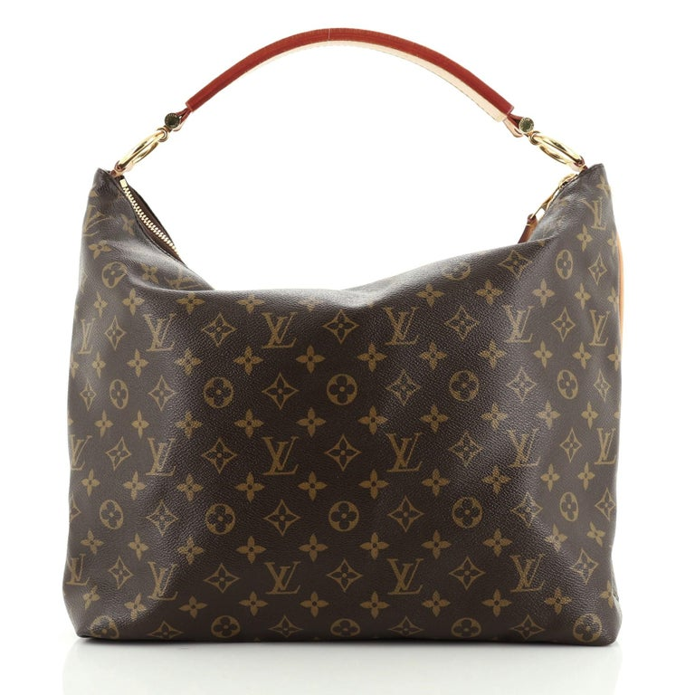 Louis Vuitton Sully Handbag In Good Condition For Sale In New York, NY