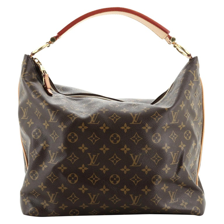 Louis Vuitton Sully Handbag For Sale
