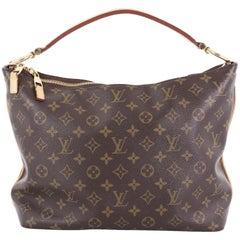 Louis Vuitton Sully Handbag Monogram Canvas PM