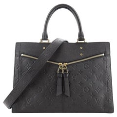 Louis Vuitton Sully Handbag Monogram Empreinte Leather MM