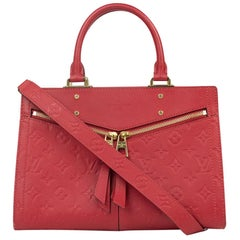Louis Vuitton, Sully in red leather