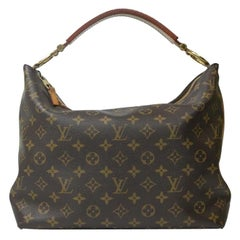 LOUIS VUITTON Sully Shoulder bag in Brown Canvas