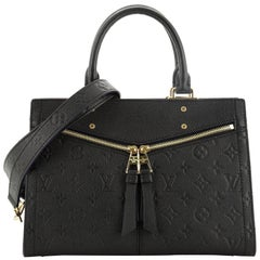 Louis Vuitton Sully Tote Monogram Empreinte Leather PM