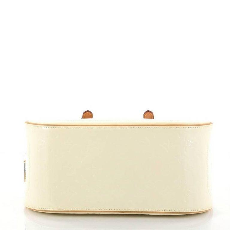 Women's or Men's Louis Vuitton Summit Drive Handbag Monogram Vernis  For Sale