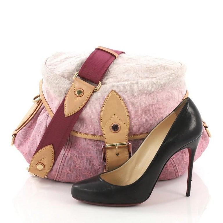 7d276b3383589 Louis Vuitton Sunshine Handtasche Denim im Angebot bei 1stdibs