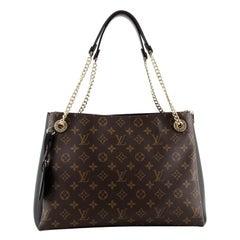 Louis Vuitton Surene Handbag Monogram Canvas with Leather MM