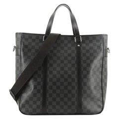Louis Vuitton Tadao Handbag Damier Graphite MM