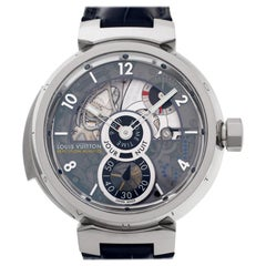 Louis Vuitton Tambour LV 40, Gold Dial, Certified and Warranty