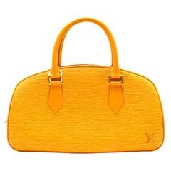 Louis Vuitton Tassil Yellow Epi Leather Jasmin Bag 30cm