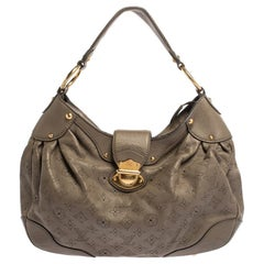 Louis Vuitton Taupe Monogram Mahina Leather Solar PM Bag