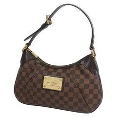 LOUIS VUITTON Thames PM Womens shoulder bag N48180 Damier ebene
