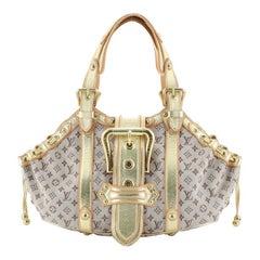 Louis Vuitton Theda Handbag Mini Lin GM