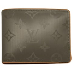 LOUIS VUITTON Titanium Monogram Wallet
