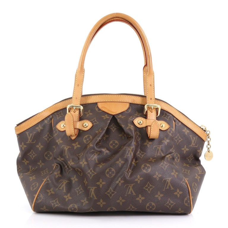 Brown Louis Vuitton Tivoli Handbag Monogram Canvas GM
