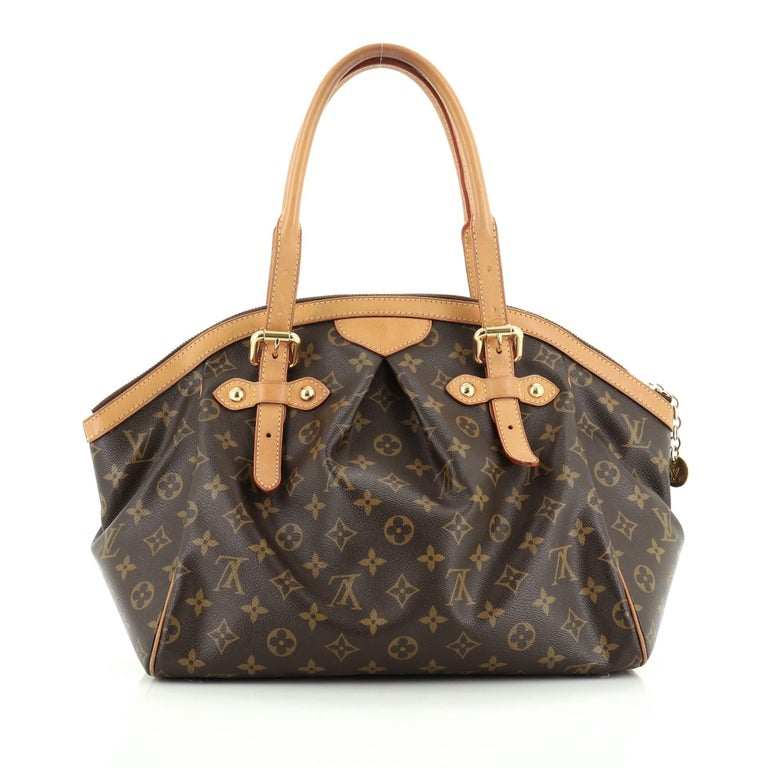 Louis Vuitton Tivoli Handbag Monogram Canvas GM In Good Condition For Sale In New York, NY