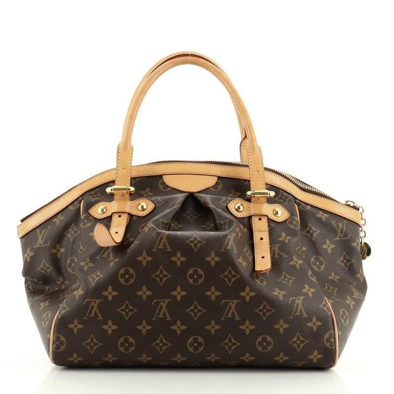 Louis Vuitton Tivoli Handbag Monogram Canvas GM In Good Condition For Sale In New York, NY