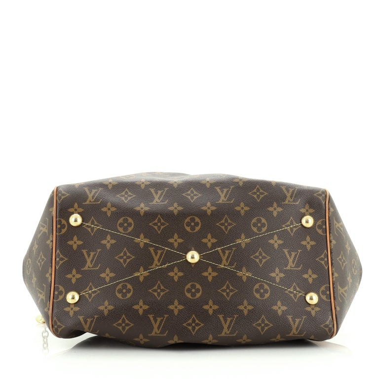 Women's or Men's Louis Vuitton Tivoli Handbag Monogram Canvas GM For Sale