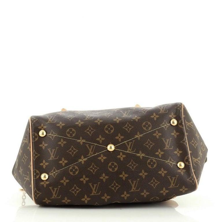 Women's or Men's Louis Vuitton Tivoli Handbag Monogram Canvas GM For Sale