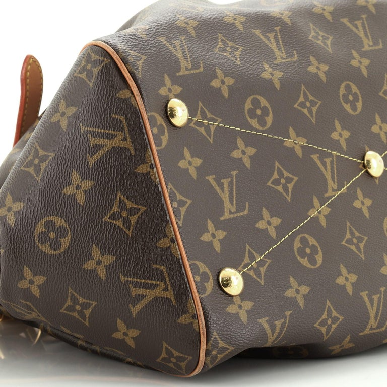 Louis Vuitton Tivoli Handbag Monogram Canvas GM For Sale 2