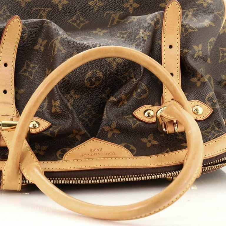 Louis Vuitton Tivoli Handbag Monogram Canvas GM For Sale 3