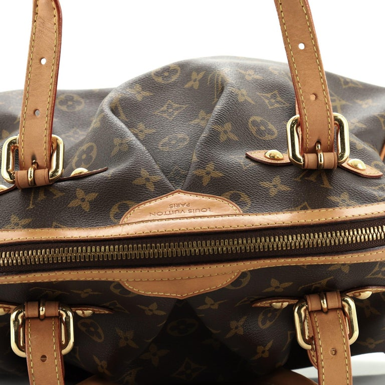 Louis Vuitton Tivoli Handbag Monogram Canvas GM For Sale 4
