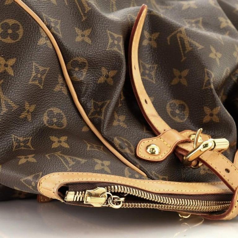Louis Vuitton Tivoli Handbag Monogram Canvas GM For Sale 4
