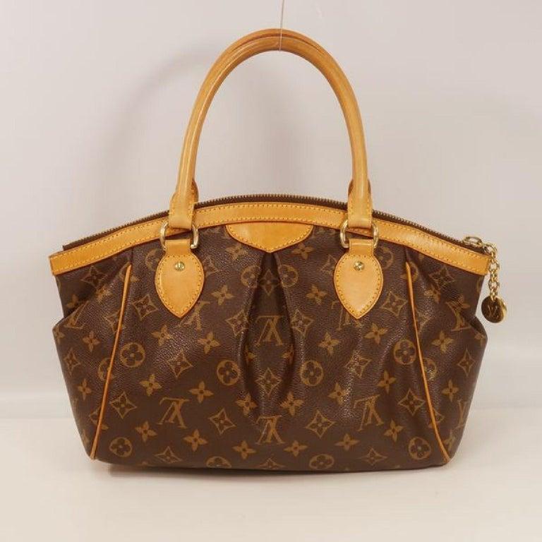 Brown LOUIS VUITTON Tivoli PM Womens handbag M40143 For Sale