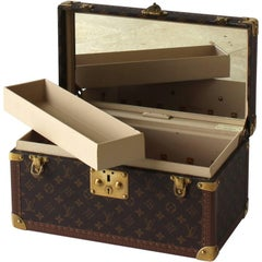 Louis Vuitton Toiletry Case with Inside Mirror