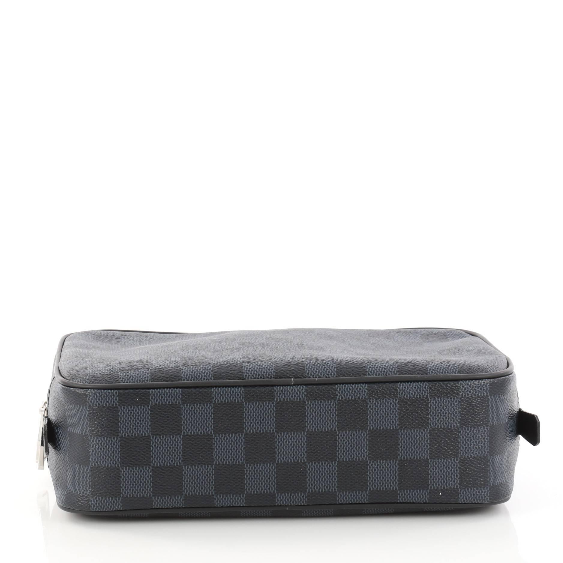 062f19db169b Louis Vuitton Toiletry Pouch Damier Graphite GM at 1stdibs