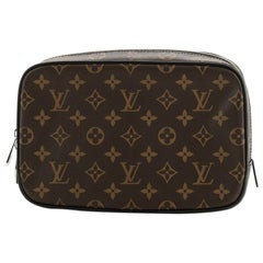 Louis Vuitton Toiletry Pouch Macassar Monogram Canvas GM