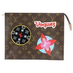 Louis Vuitton Toiletry Pouch Poche Stories Monogram Patches 26 Toieltte 1lz0925