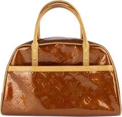 Louis Vuitton Tompkins Square Bronze Copper Vernis S14lz0116 Brown Satchel