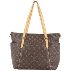 Louis Vuitton Totally Handbag Monogram Canvas MM