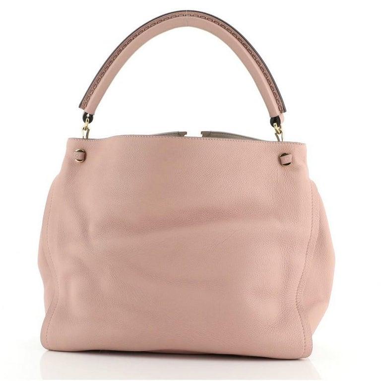 Brown Louis Vuitton Tournon Handbag Leather For Sale
